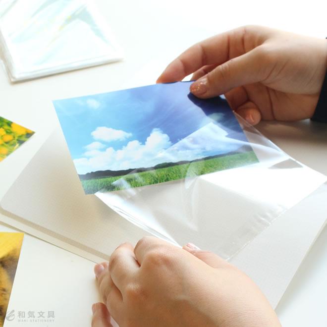 好きな写真を、好きな場所に便利なフィルムポケット