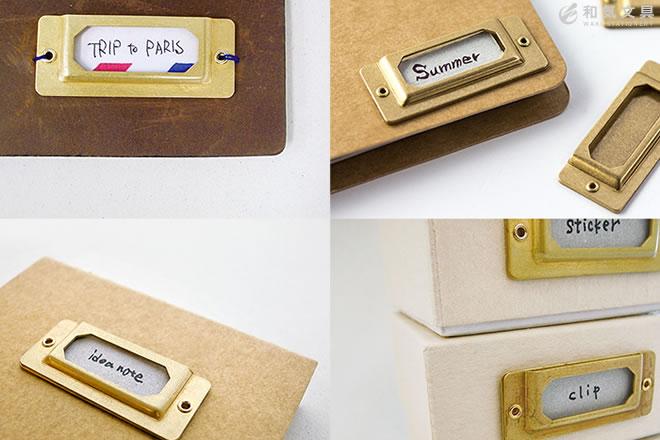 ノートやボックスが素敵な雰囲気に