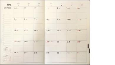 【2018年 手帳】 エイ ステーショナリー ES ダイアリー A5 見開き1ヶ月 ノート
