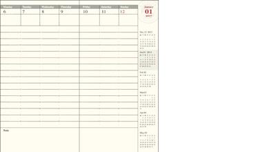 【2018年 手帳】トラベラーズノート TRAVELER'S Notebook 週間バーチカル (時間軸タテ) ダイアリー