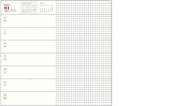 【2018年 手帳】トラベラーズノート TRAVELER'S Notebook 週間+メモ(レフト式)ダイアリー