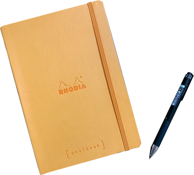 STEP1:好きなノート・ペンを用意します