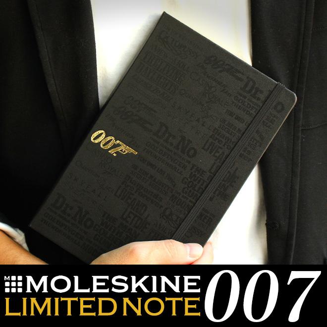 [限定]モレスキン MOLESKINE 007 ノートブック ラージ 横罫