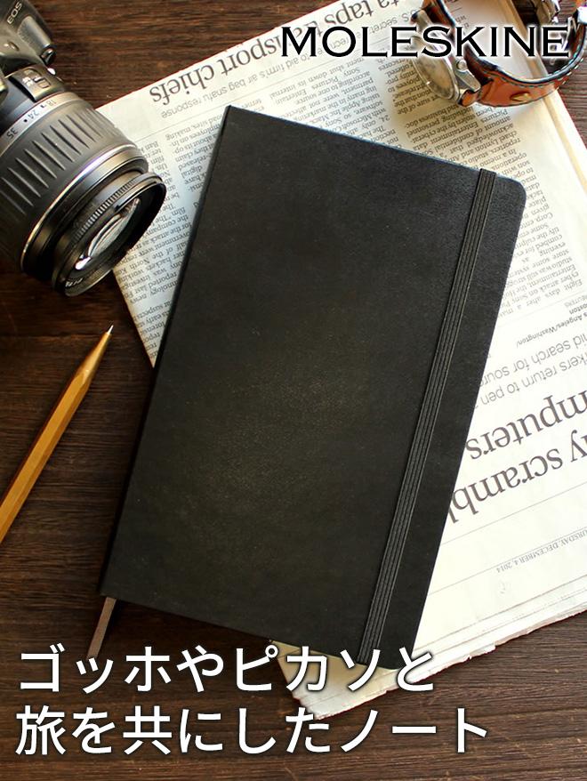 ゴッホやピカソと旅を共にしたノート「モレスキン」