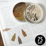 ブックダーツ BOOKDARTS 75個入り 3色ミックス缶タイプ