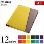 CASSAROS キャサロス ファイルノートカバー A6