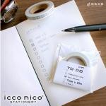 icco nico TODO エンピツ マスキングテープ