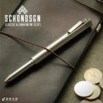ショーン・デザイン Schon DSGN クラシックアルミニウム Classic Aluminum ボールペン クリップ付き