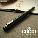 ショーン・デザイン Schon DSGN ブラックアルミニウム Black Aluminum ボールペン クリップ付き