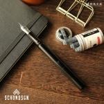 ショーン・デザイン Schon DSGN ポケットシックス ブラックアルミニウム Pocket Six Black Aluminum 万年筆