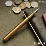 ショーン・デザイン Schon DSGN ポケットシックス ブラス Pocket Six Brass 万年筆