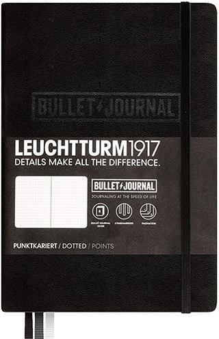 ロイヒトトゥルム LEUCHTTURM1917 バレットジャーナル ミディアム A5
