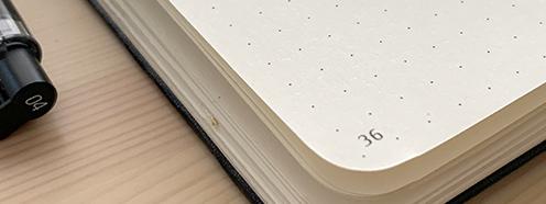 バレットジャーナルにおすすめのノート
