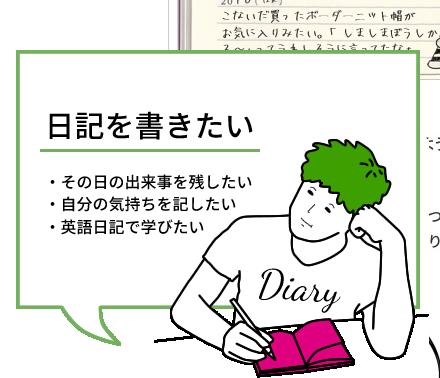 日記を書きたい