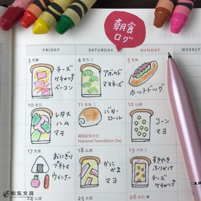 ライフログ~朝食編~