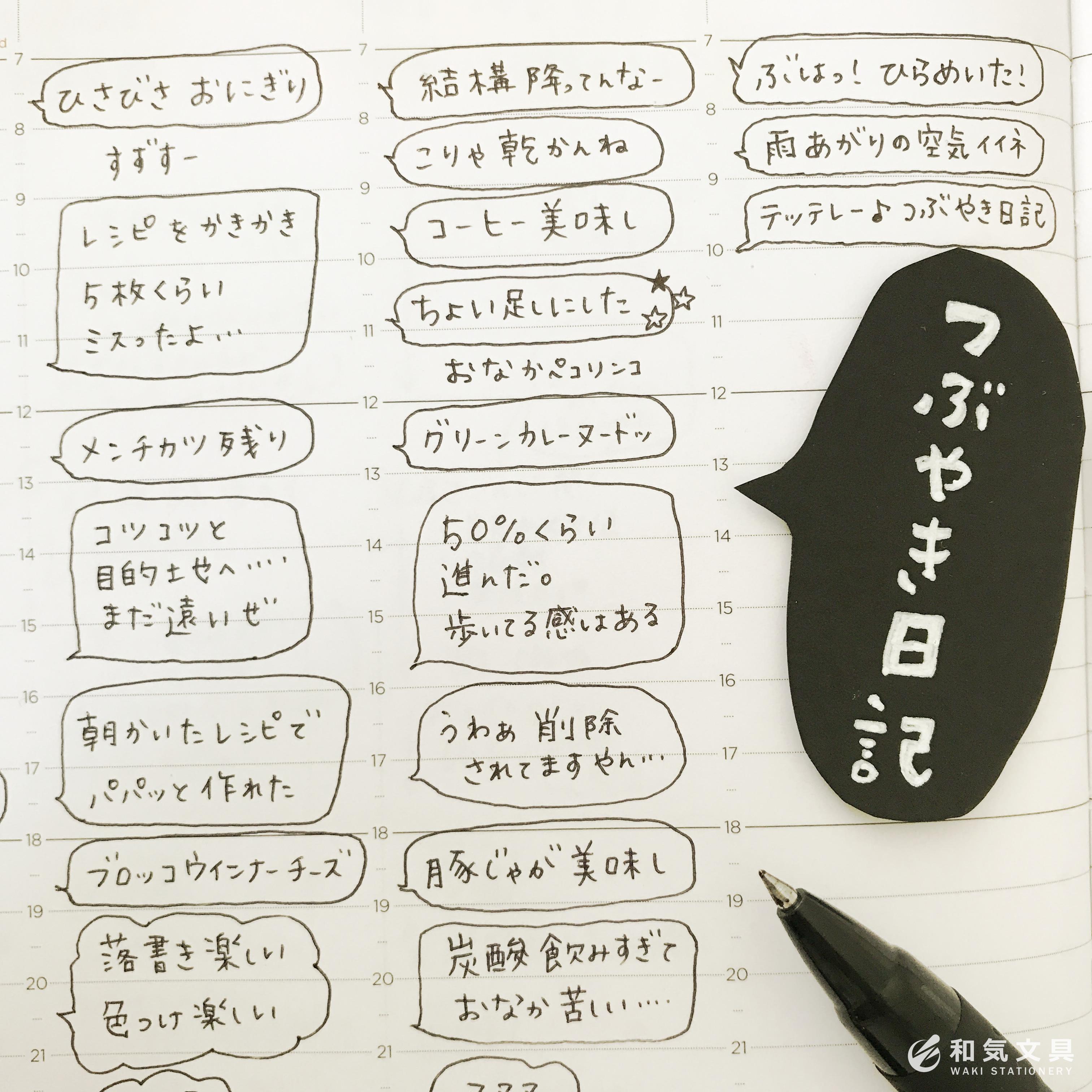 つぶやき日記